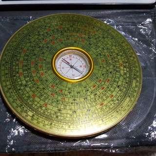 Pottery plate 风水盤