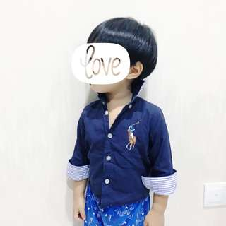 Polo suit shirt
