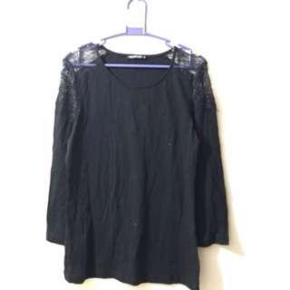 TERRANOVA Black Long Sleeves Blouse