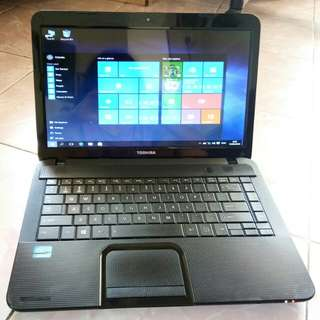 Laptop Toshiba C840 core i5