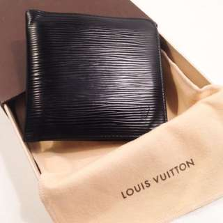 WTS: LOUIS VUITTON MENS BIFOLD EPI LEATHER WALLET