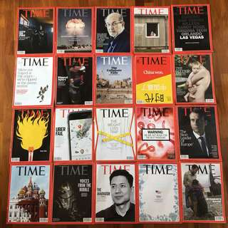 Time Magazines 2017