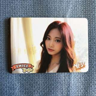 Twice Yes Card 子瑜 Tzuyu