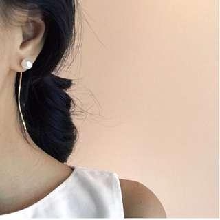 正韓預購 珍珠耳環