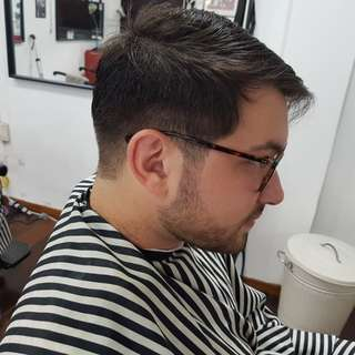 Home call barber