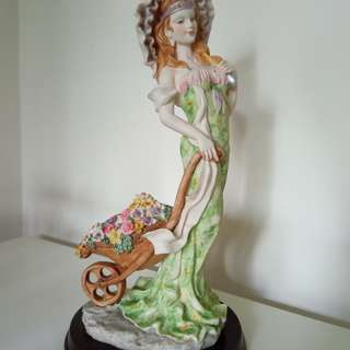 "Vintage Tabletop Figurines ""The Angelica Collection"" and ""The Greatart Collection"""