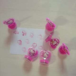 Stempel Hellokitty 1set
