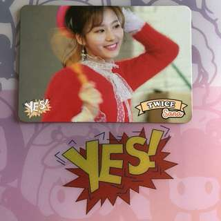 Twice Yes Card Sana