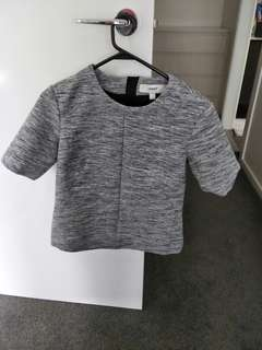cameo grey top