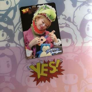 Twice Yes Card 定延