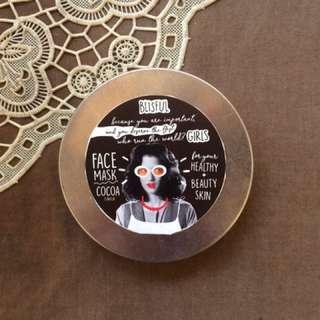 Facemask oatmeal&cocoa