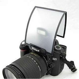 Universal Foldable Pop-Up Soft Screen Flash Diffuser For DSLR Camera