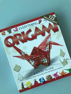 Origami - Instructional Book to make over 60 Origami Models