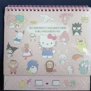 Sanrio Characters Calendar