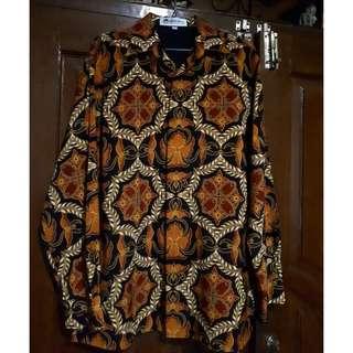 E02-Baju Batik Keris