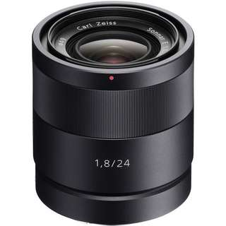 BNIB Sony Carl Zeiss Sonnar T* 24mm f1.8 Lens