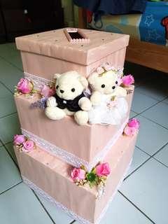 New Handmade Wedding Ang Pao Box