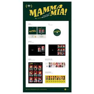 [PREORDER] SF9 MAMMA MIA SPECIAL EDITION