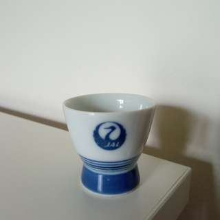 Vintage Japan Airlines (JAL) Sake cup