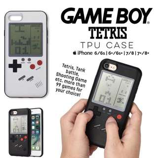 Gameboy Tetris Brick Game Case for iPhone 6 6s 6+ 6s+ 7 7+ 8 8+ plus