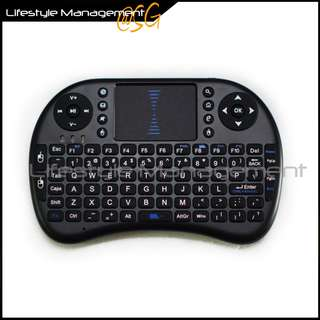 Wireless/Air Mini Touchpad Keyboard/Mouse Keypad Panel (Win8/Win7/Mac/PC//Android) Desktop/Notebook/Console/Box