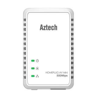 HL117E Aztech HomePlug AV 500Mbps Ethernet Adapter