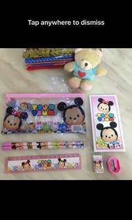 Tsum tsum stationary set - kids party door gift, goodies bag packages