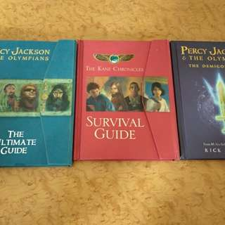 Rick Riordan Guide Books