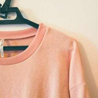 🚚 軟妹風 粉紅長袖
