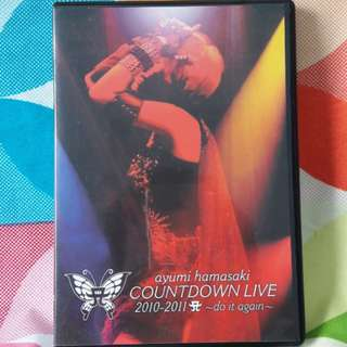 Ayumi Hamasaki Countdown Live 2010 2011 Do It Again Concert DVD