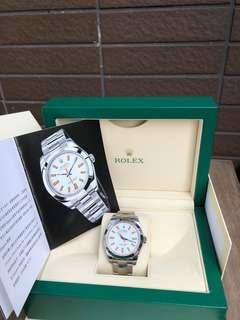 Rolex 勞力士 116400 Milgauss M頭(約2007年)欠出世卡