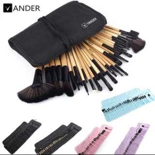 32Pcs Makeup brushes