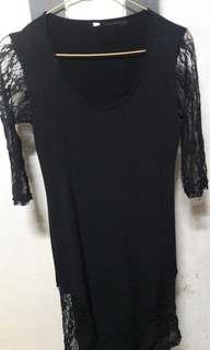 Dress hitam sexy