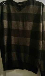 Men's striped sweater (Small)