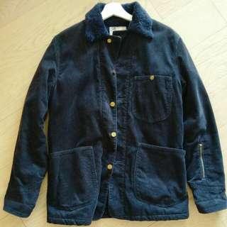 Sophnet x Lee dark navy corduroy jacket