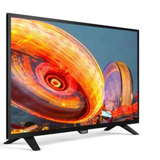 "PHILIPS 32"" Black Slim LED HD TV 32PHA3052  