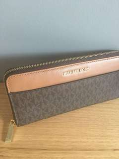 Authentic leather Michael Kors Wallet - brand new post $10