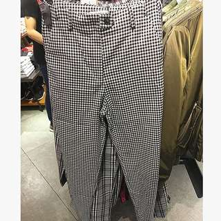 ZARA Plaid Pants