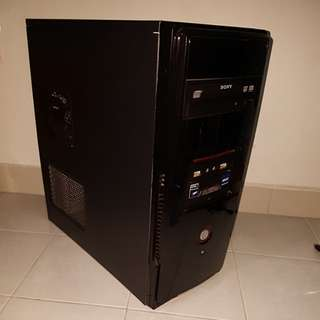 Computer Mini Tower Casing with PSU and Sony DVD RW
