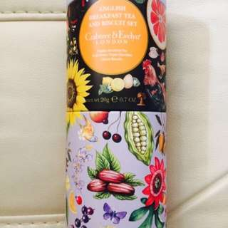 Crabtree & Evelyn London English Breakfast Tea and Biscuit Set All Butter Triple Chocolate Chunk Biscuits 朱古力餅乾