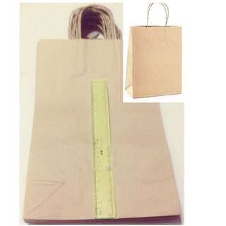 Brown Kraft Bag with Handle