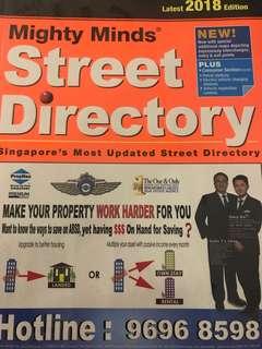 Latest 2018 Edition Singapore Street Directory