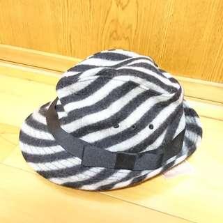 斑馬紋造型帽