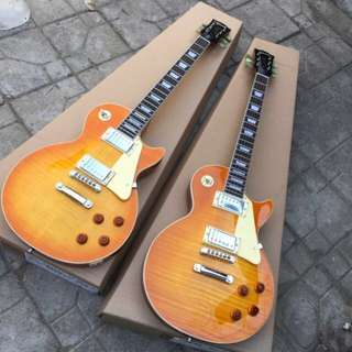 INSTOCKS: Les Paul Honey Burst Electric Guitar