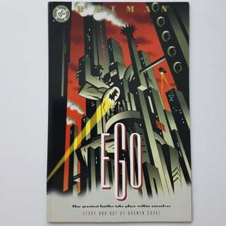 DC Comics Batman Ego One Shot Prestige Format First Print
