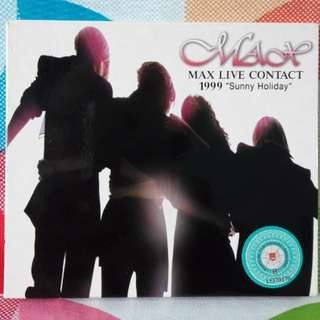 MAX Live Contact 1999 Sunny Holiday Concert VCD