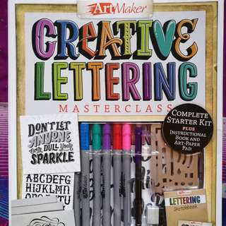 ARTMAKER Calligraphy DIY Set