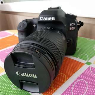 Canon EOS 80D Kit ll (EF-S18-135 IS USM)