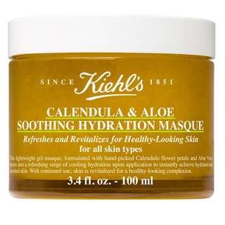 Kiehls calendula and aloe soothing mask