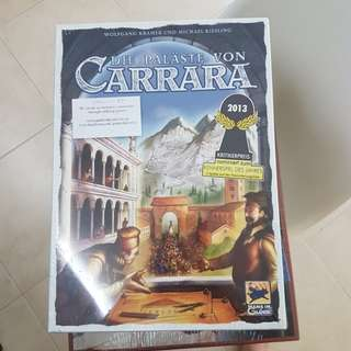 Palace Of Carrara Brand New Board Game
